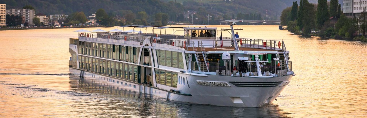 Amadeus Provence on the river Rhone