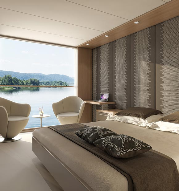 Amadeus Silver II Cabin