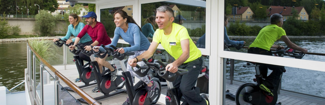 AmaWaterways - AmaMagna Spin Class