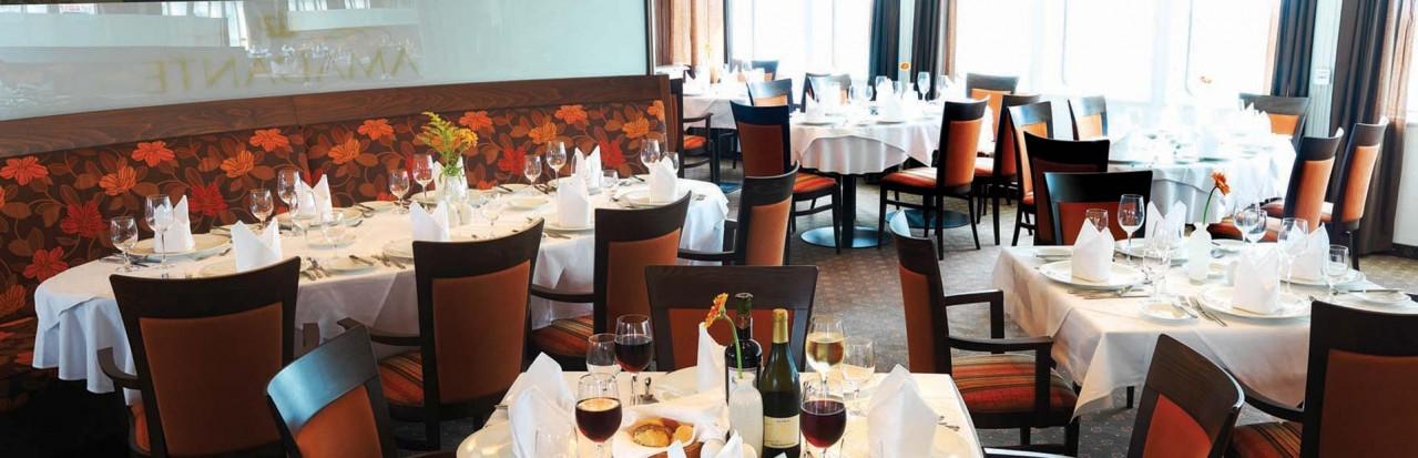 AmaWaterways Amadante Restaurant