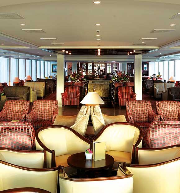 AmaWaterways Amadolce Lounge