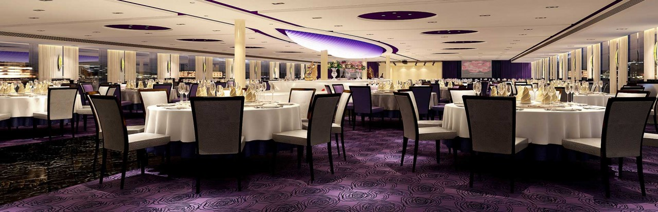 Avalon Waterways Century Legend Dining Hall