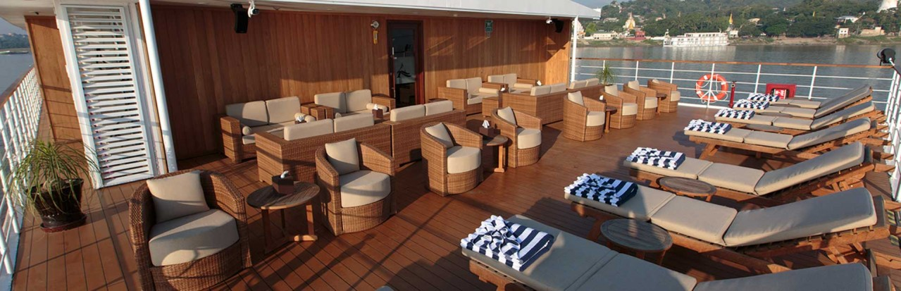 Avalon Myanmar Sun Deck