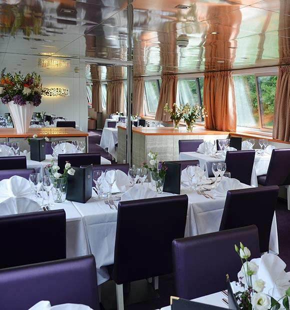 CroisiEurope MS Raymonde Barge Dining