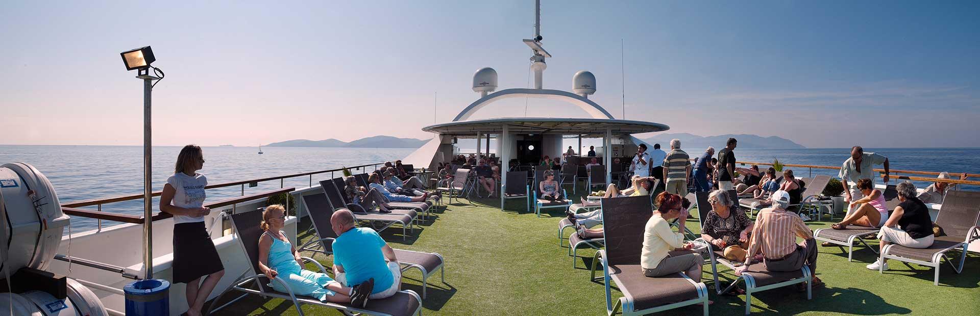 CroisiEurope MV La Belle de l'Adriatique - Sun Deck