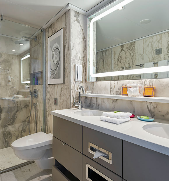 Crystal Bach Bathroom Suite