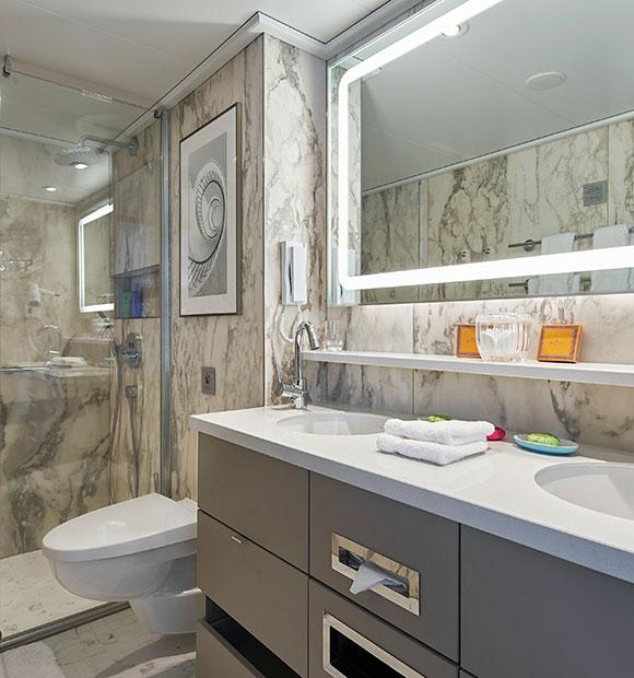 Crystal Bach Bathroom Suite