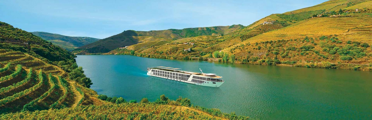 Emerald Radiance on the Douro River