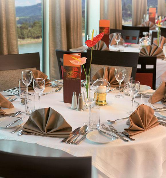 Saga Amadeus Dining Area