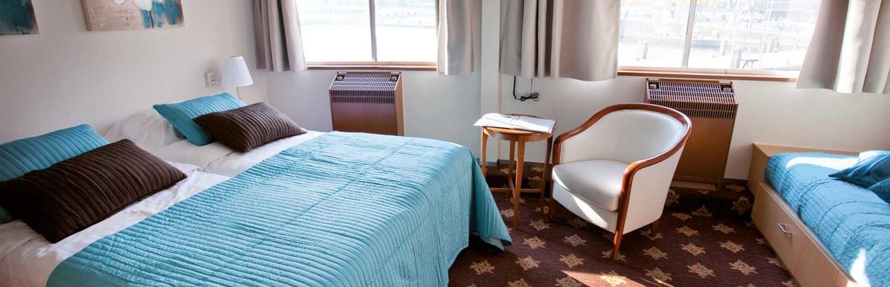 Saga Rex Rheni double cabin
