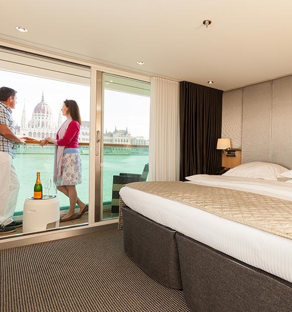 Scenic River Cruises Deluxe Balcony Suite