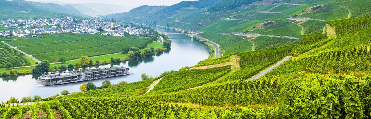 Scenic Diamond on the Moselle