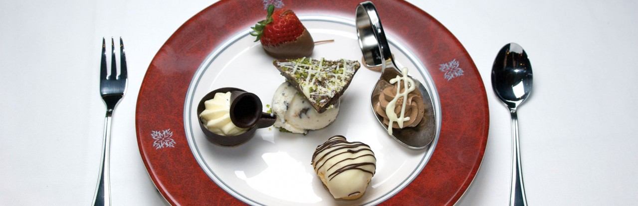 Tauck Dessert Plate