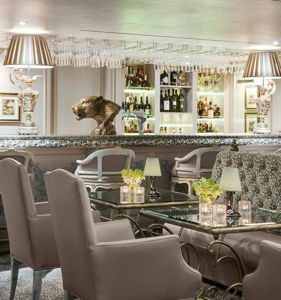 Uniworld SS Maria Theresa Leopard Lounge