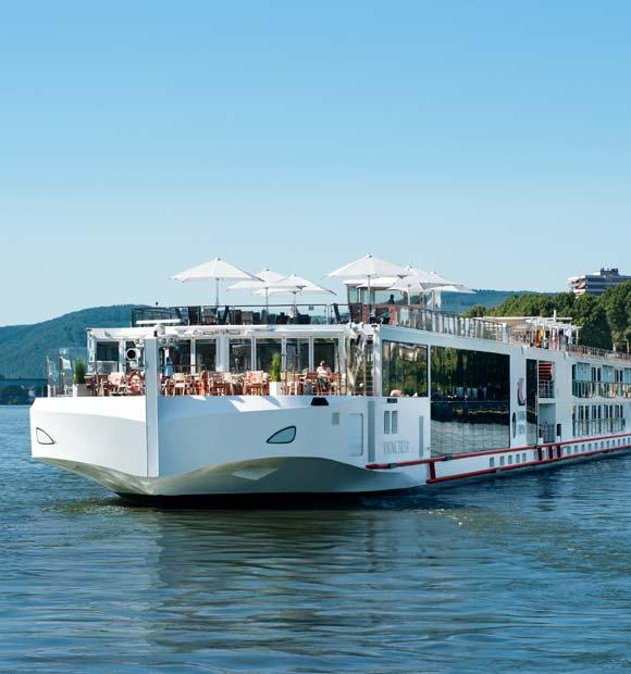 Viking Freya on the Rhine