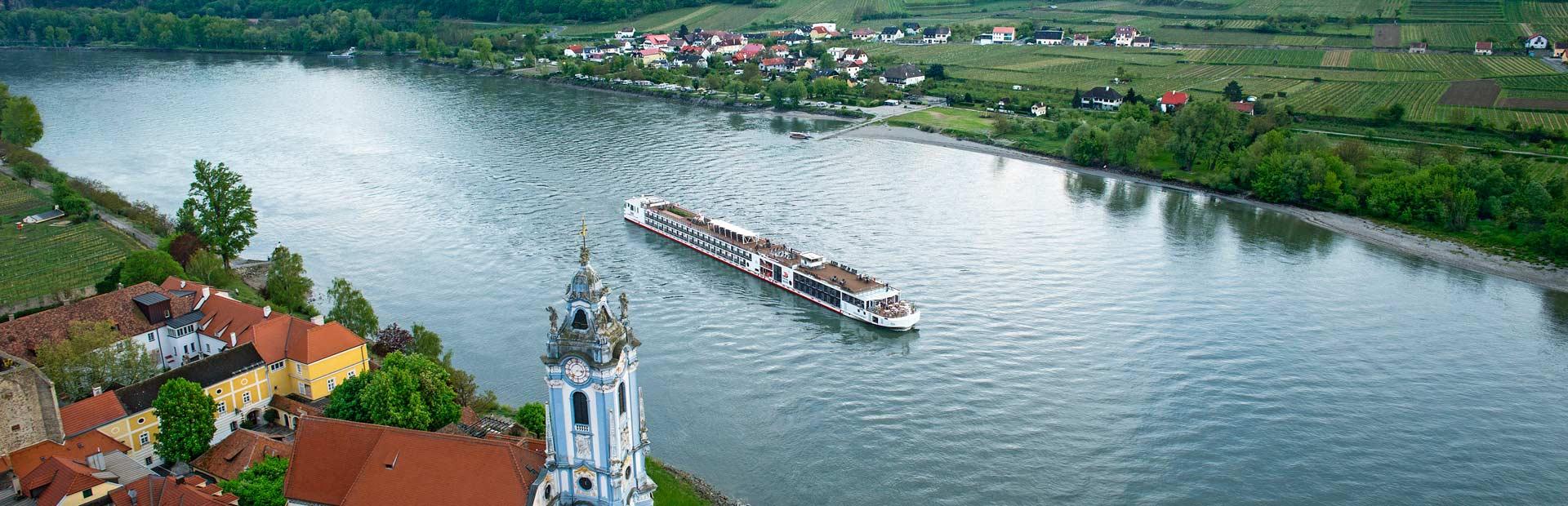 Viking Longship in Dürnstein