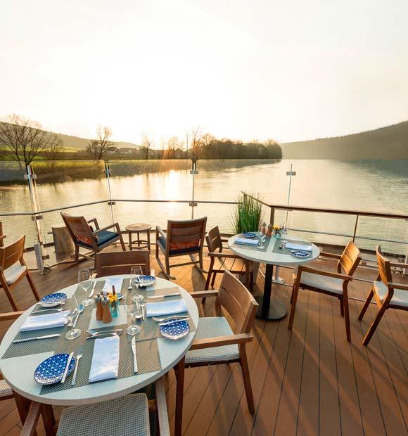 Viking Longship Aquavit Terrace