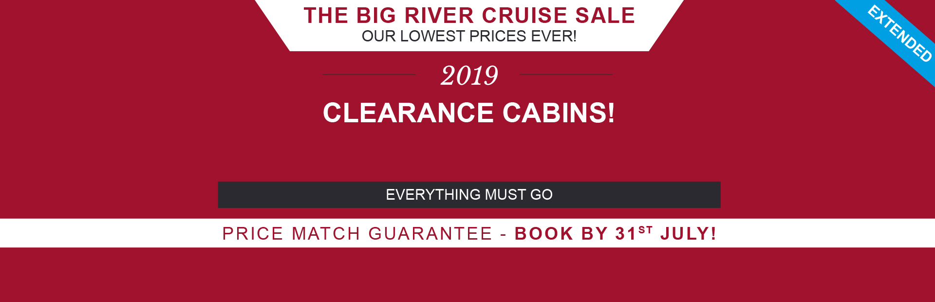River Cruise Sale - Extended