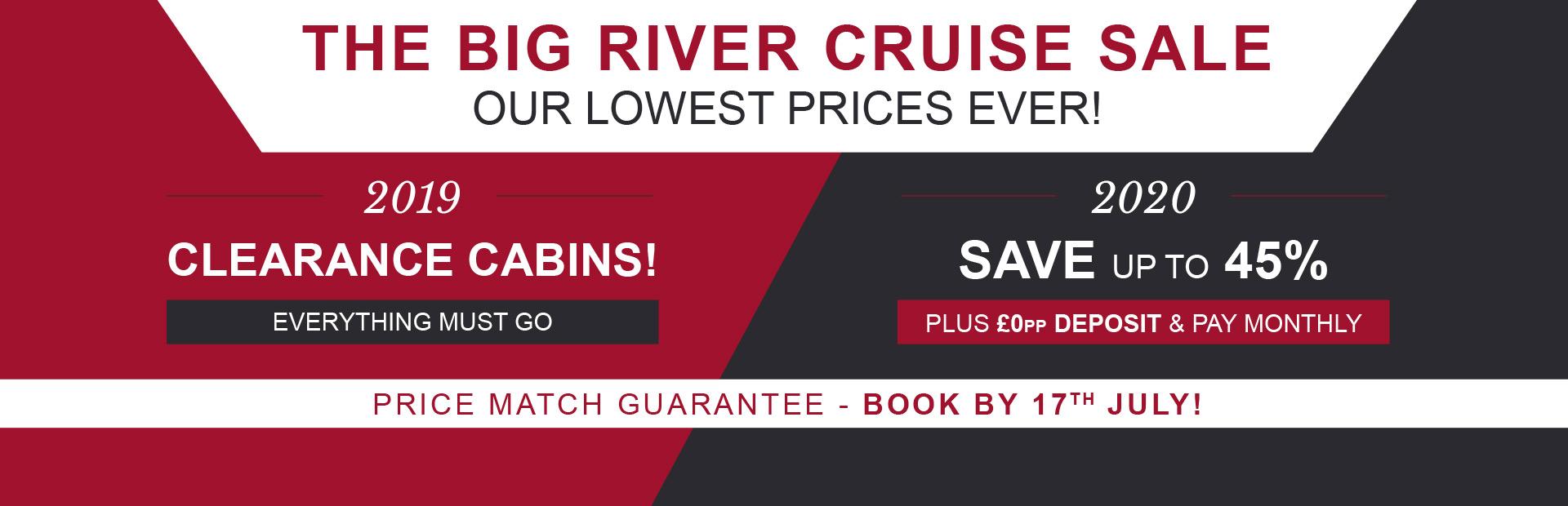 Big River Cruise Sale