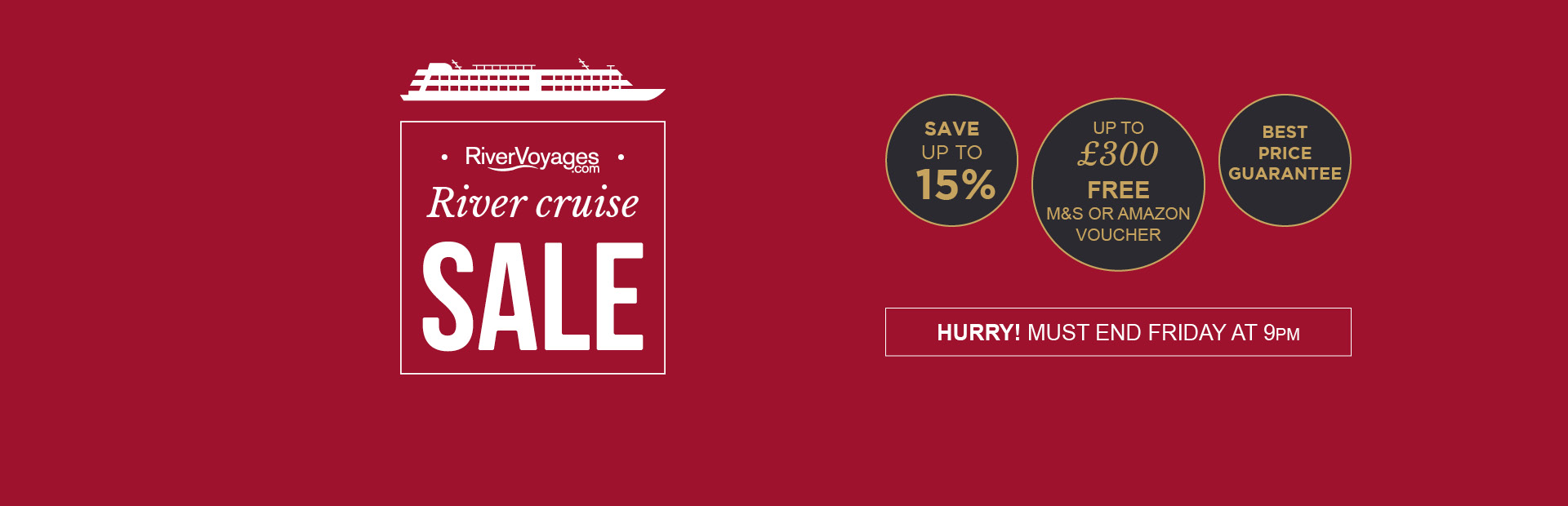 River Cruise Sale Ending